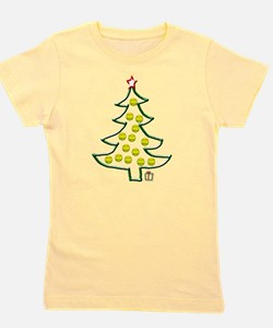 Softball tree png.png Girl's Tee