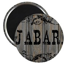 Jabari, Western Themed Magnet