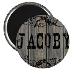 Jacoby, Western Themed Magnet