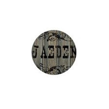 Jaeden, Western Themed Mini Button