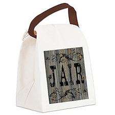 Jair, Western Themed Canvas Lunch Bag