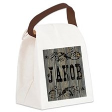 Jakob, Western Themed Canvas Lunch Bag