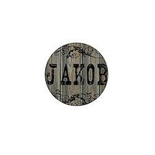 Jakob, Western Themed Mini Button