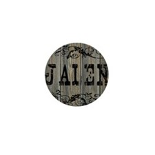 Jalen, Western Themed Mini Button