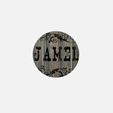 Jamel, Western Themed Mini Button