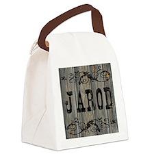Jarod, Western Themed Canvas Lunch Bag
