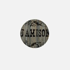 Jamison, Western Themed Mini Button