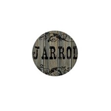 Jarrod, Western Themed Mini Button