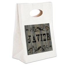 Javier, Western Themed Canvas Lunch Tote