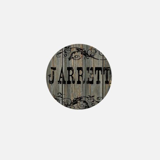Jarrett, Western Themed Mini Button