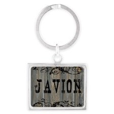 Javion, Western Themed Landscape Keychain