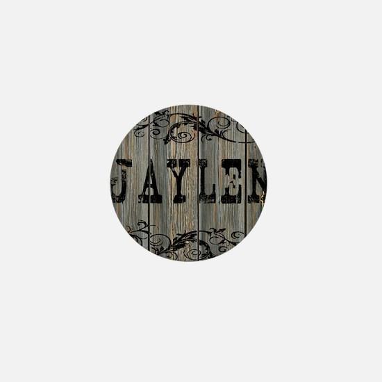 Jaylen, Western Themed Mini Button