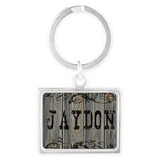 Jaydon, Western Themed Landscape Keychain