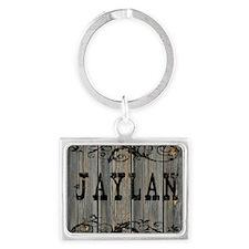 Jaylan, Western Themed Landscape Keychain