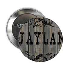 "Jaylan, Western Themed 2.25"" Button"