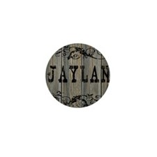 Jaylan, Western Themed Mini Button