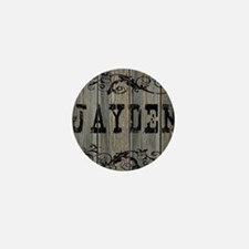 Jayden, Western Themed Mini Button