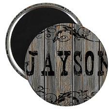 Jayson, Western Themed Magnet