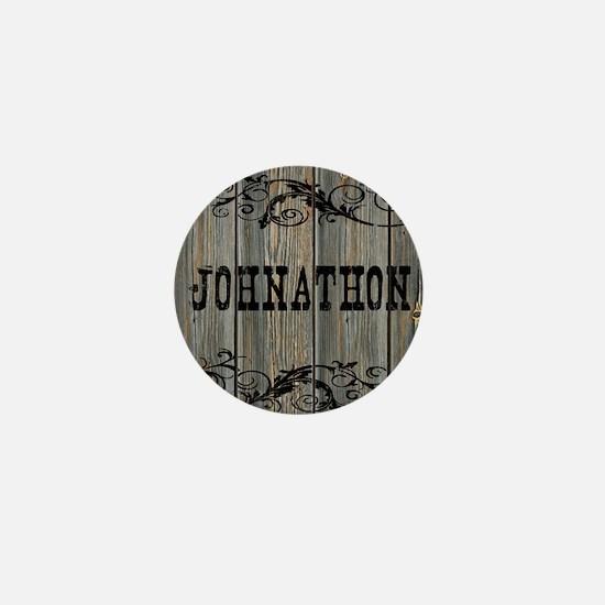 Johnathon, Western Themed Mini Button