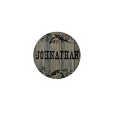 Johnathan, Western Themed Mini Button
