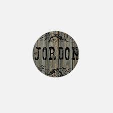 Jordon, Western Themed Mini Button