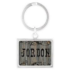 Jordon, Western Themed Landscape Keychain
