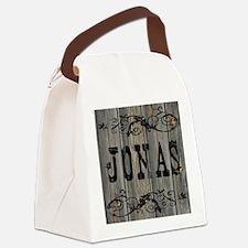 Jonas, Western Themed Canvas Lunch Bag