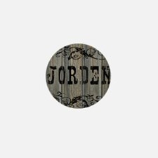 Jorden, Western Themed Mini Button