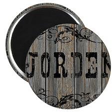 Jorden, Western Themed Magnet
