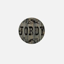 Jordy, Western Themed Mini Button