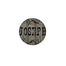 Joseph, Western Themed Mini Button