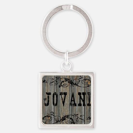 Jovani, Western Themed Square Keychain