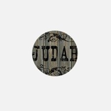 Judah, Western Themed Mini Button