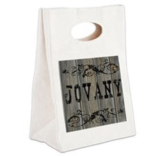 Jovany, Western Themed Canvas Lunch Tote