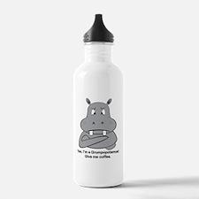Grumpopotamus Coffee Water Bottle