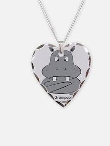 Grumpopotamus Coffee Necklace