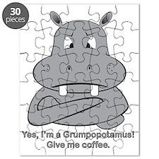 Grumpopotamus Coffee Puzzle