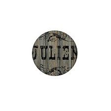Julien, Western Themed Mini Button