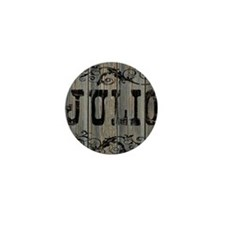 Julio, Western Themed Mini Button