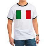 Italian Flag Ringer T