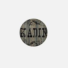Kadin, Western Themed Mini Button