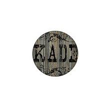 Kade, Western Themed Mini Button