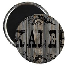 Kaleb, Western Themed Magnet