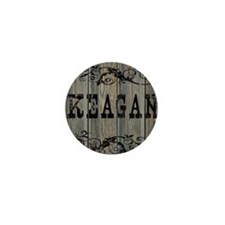 Keagan, Western Themed Mini Button