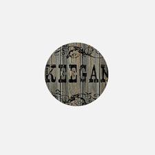 Keegan, Western Themed Mini Button