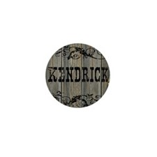 Kendrick, Western Themed Mini Button