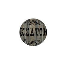 Keaton, Western Themed Mini Button