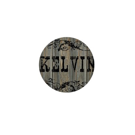 Kelvin, Western Themed Mini Button