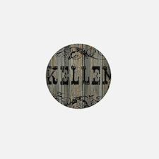Kellen, Western Themed Mini Button