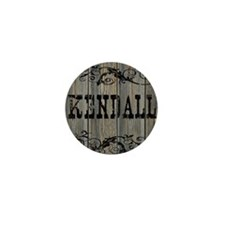 Kendall, Western Themed Mini Button
